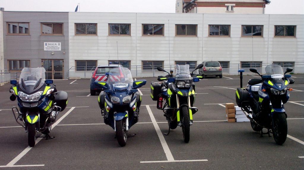 Nouvelles motos gendarmerie