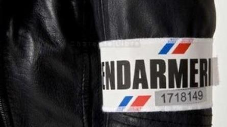brassard matricule gendarmerie