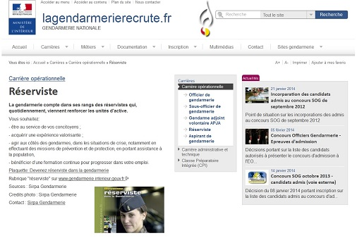 gendarmerie recrute.fr
